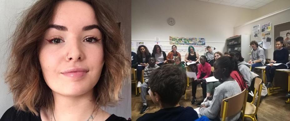 Zohya, volontaire en service civique pour la région Pays de La Loire – Promo 2019-2020