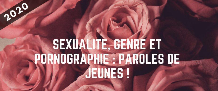 Sexualité, genre et pornographie : paroles de jeunes !