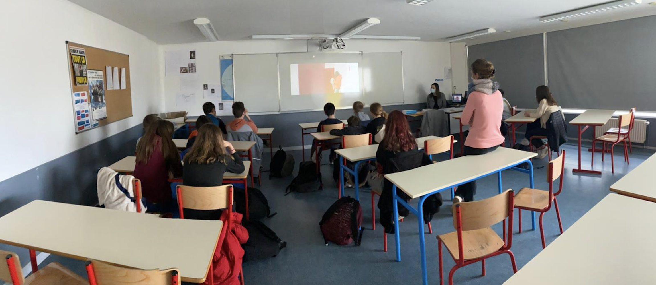 Intervention sur le thème de l'égalité fille/garçon dans les Côtes d'Armor avec Sloane et Anaïs