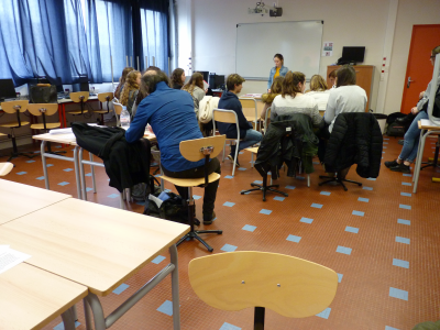 Un projet ADOSEN déjà dans la presse- Lycée Maupertuis