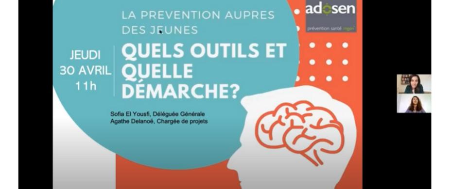 La prévention auprès des jeunes, quels outils et quelle démarche ?