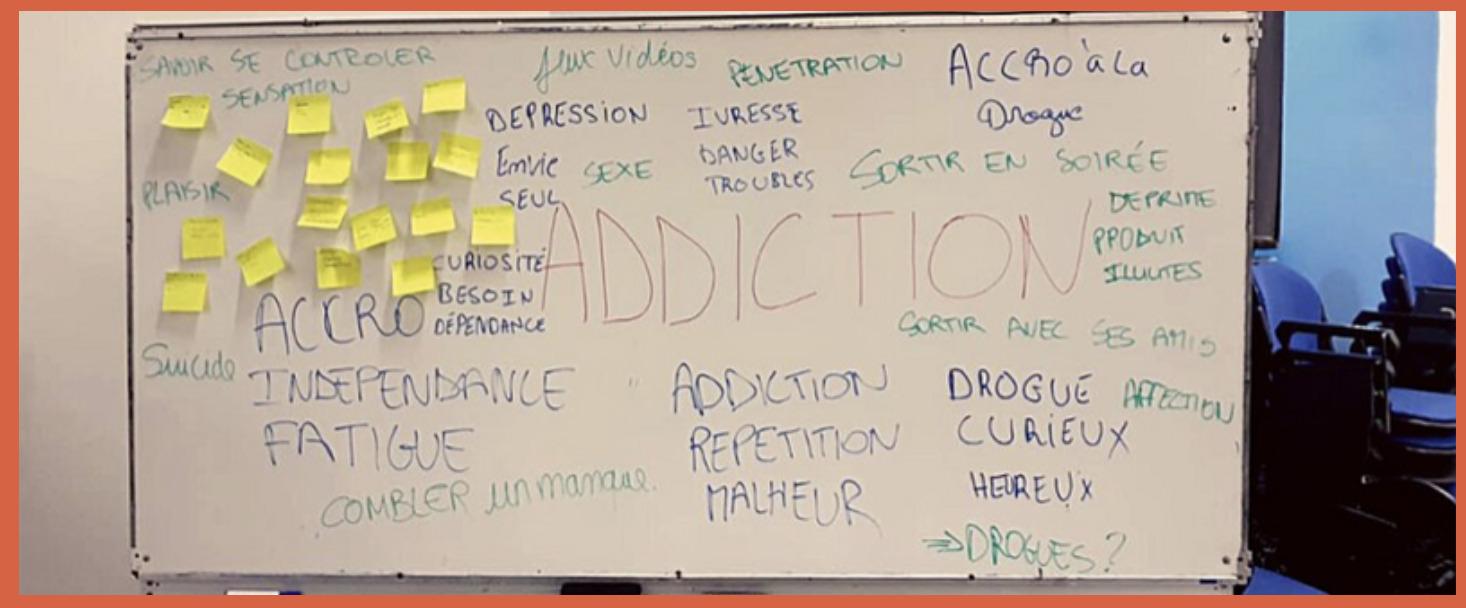 Intervention sur les addictions à Mayotte avec Houlia et Mariama