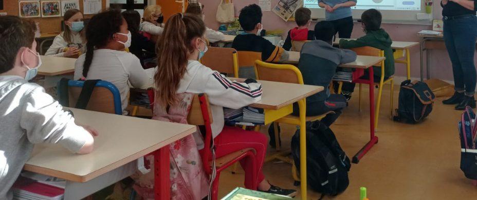 Intervention sur le harcèlement avec Charlène et Billie en Centre-Val de Loire