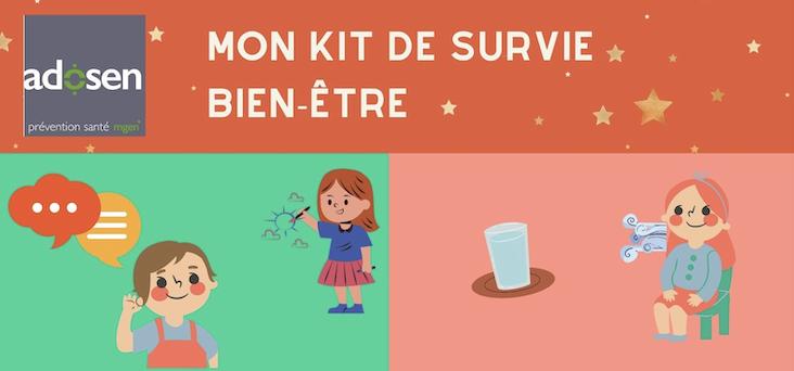 Kit de survie – Bien-être / 1er degré