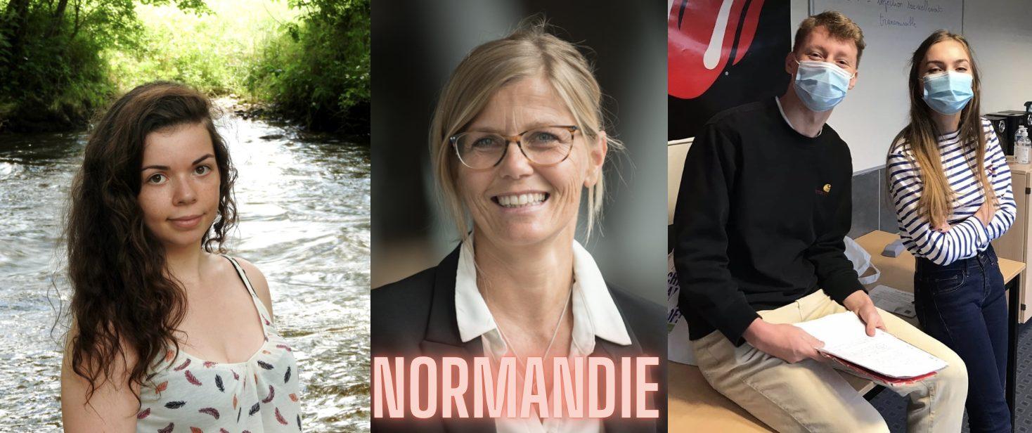 La région du mois : la Normandie !