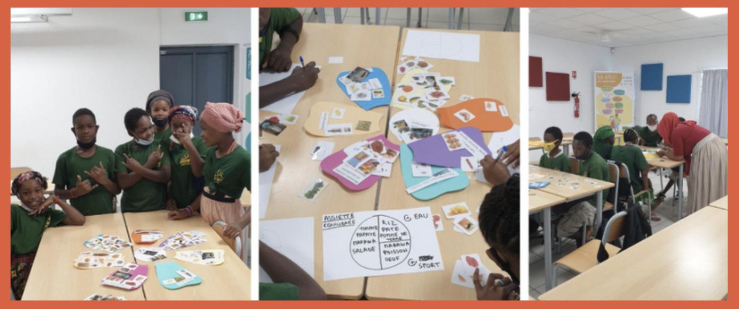 Intervention sur la nutrition à Mayotte avec Houlia et Mariama