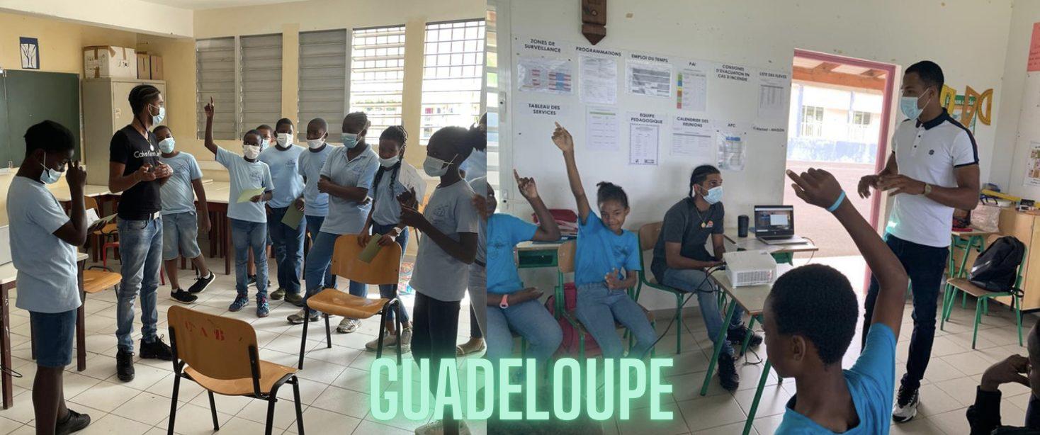 La région du mois : la Guadeloupe !