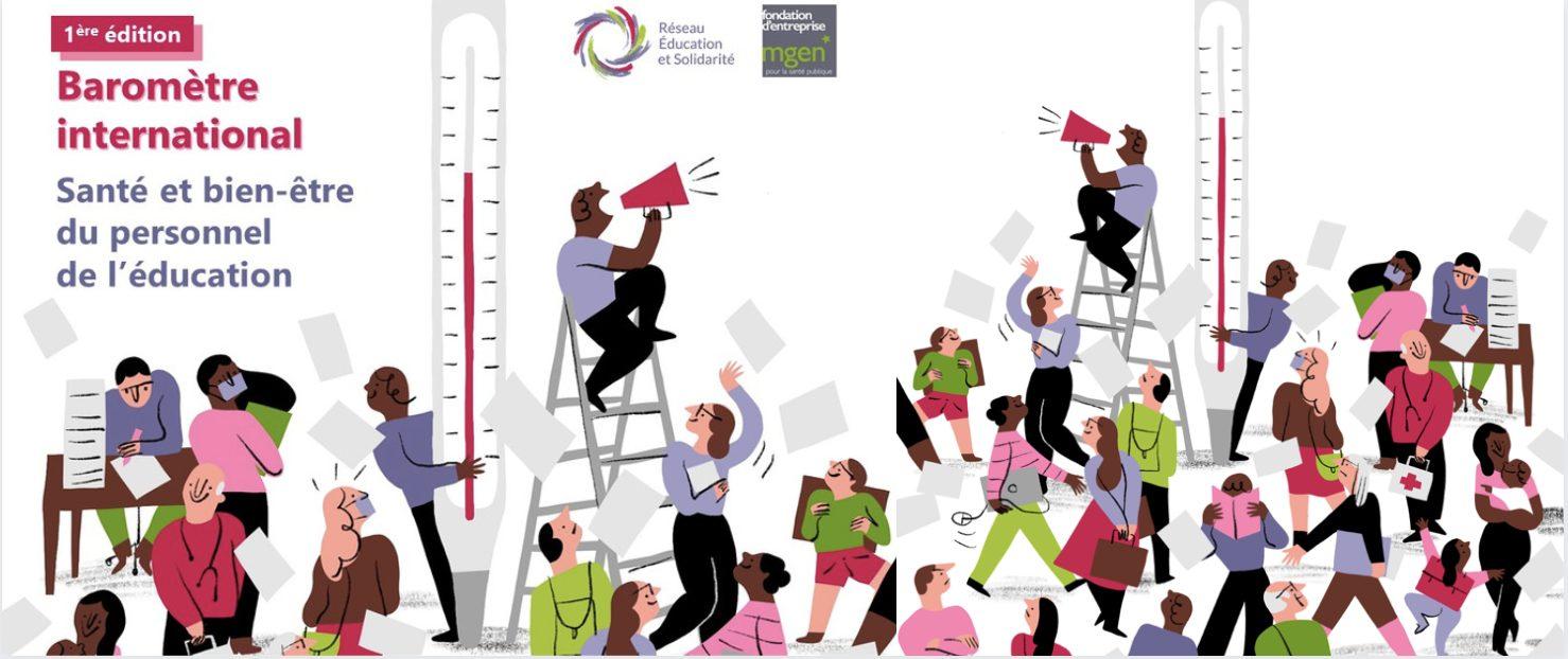 Enseignant.es, participez à l'enquête internationale lancée par le Réseau Education et Solidarité !