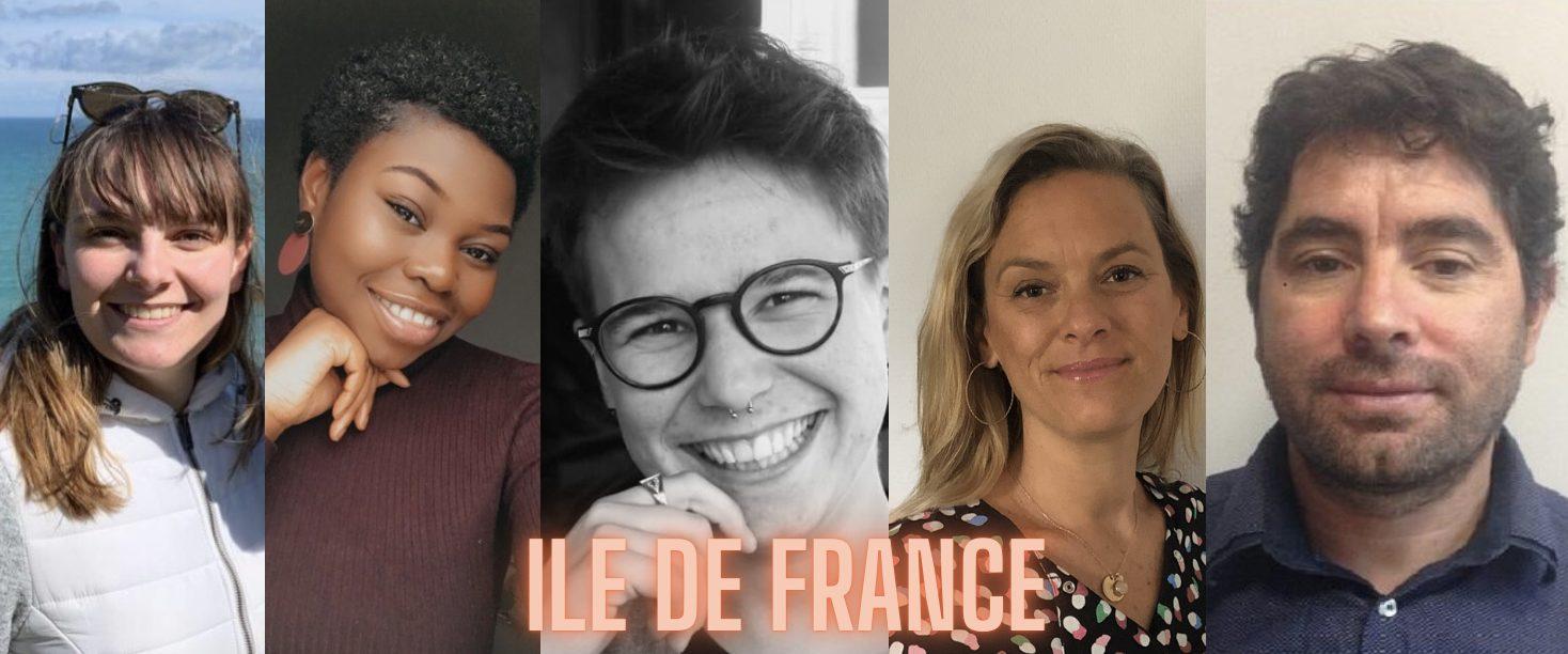 La région du mois : l'Ile de France !