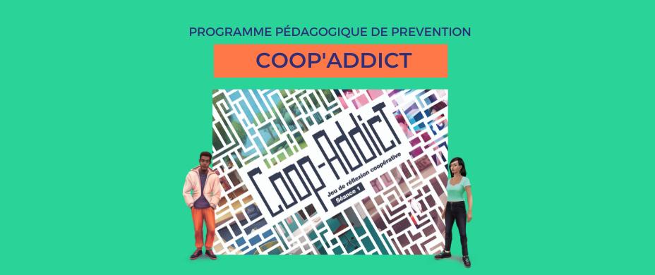 Coop-Addict : le programme de prévention des addictions ADOSEN