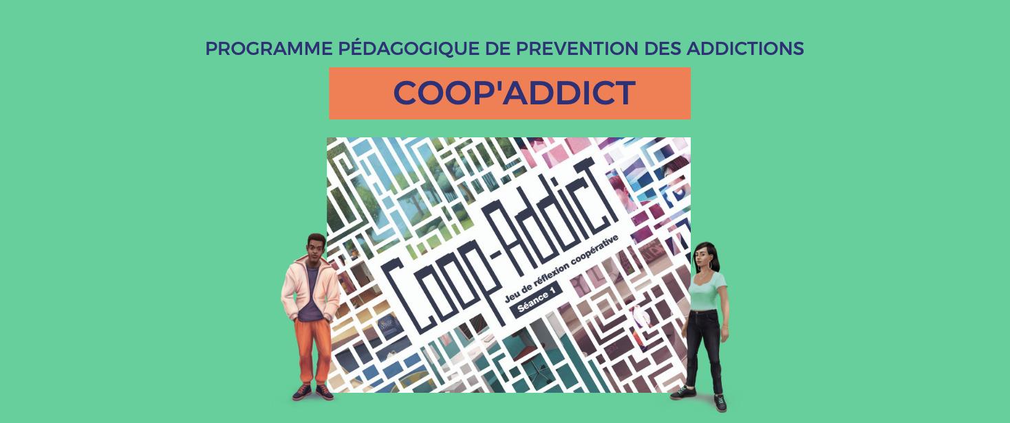 Coop-Addict : le tout nouveau programme de prévention des addictions